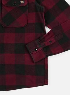 Dickies - Sacramento Shirt, Maroon/Black 5