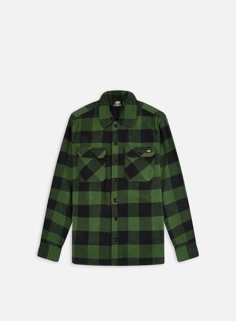 camicie dickies sacramento shirt pine green