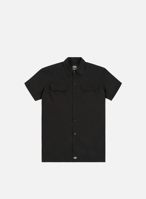 camicie dickies talpa ss shirt black