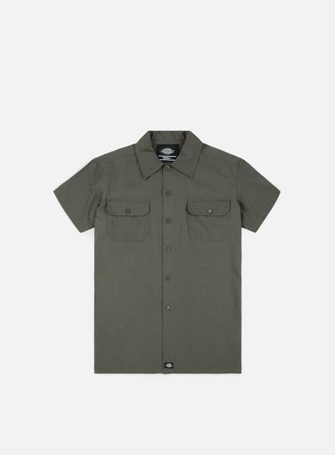 camicie dickies talpa ss shirt charcoal