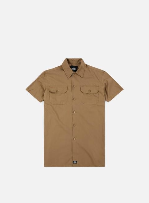 camicie dickies talpa ss shirt khaki