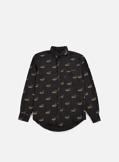 camicie doomsday roast chicken shirt black