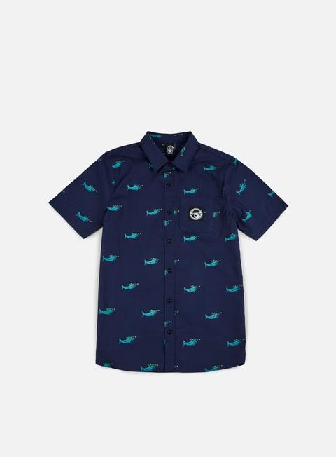 Camicie a Manica Corta Doomsday Sharks Shirt