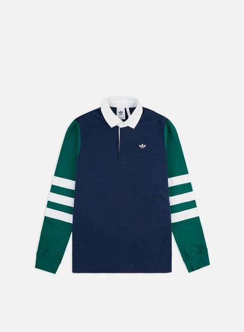 Outlet e Saldi Camicie e polo a manica lunga Adidas Originals Rugby Shirt