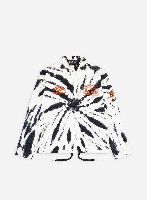 Aries Umbro Tie Dye Pro 64 Pullover LS Shirt