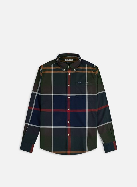 Camicie e polo a manica lunga Barbour Dunoon Tailored LS Shirt