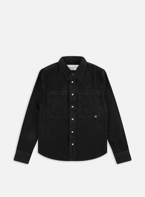 Camicie e polo a manica lunga Calvin Klein Jeans Linear Denim LS Shirt