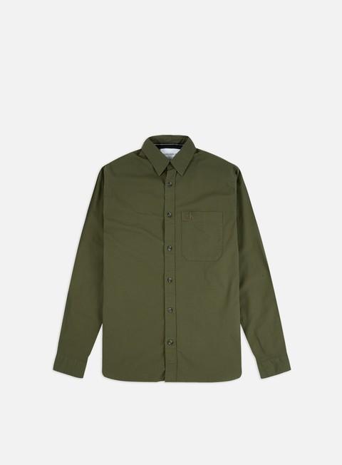 Calvin Klein Jeans Slim Stretch Logo Tape Pocket LS Shirt