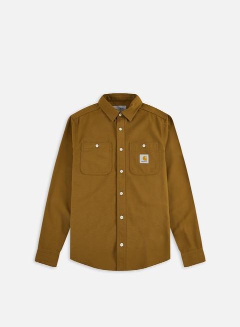 Camicie e polo a manica lunga Carhartt WIP Clink LS Shirt
