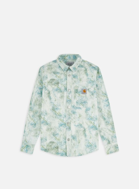 Sale Outlet Shirts Carhartt WIP Marble LS Shirt