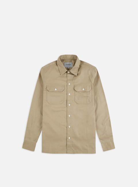 Long sleeve shirts and polos Carhartt WIP Master LS Shirt