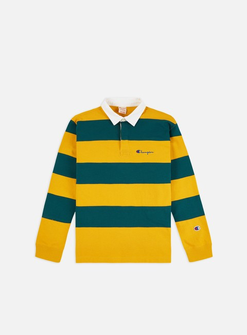 Outlet e Saldi Polo Champion Striped LS Polo Shirt