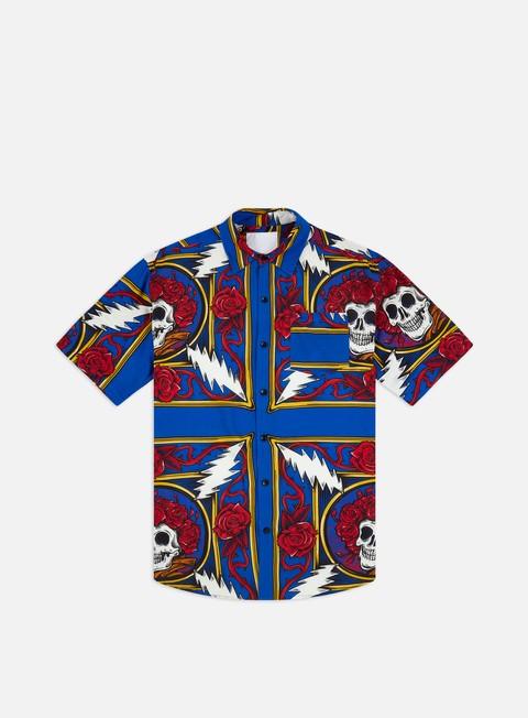 Camicie Chinatown Market Grateful Dead Border Bandana Button UP SS Shirt
