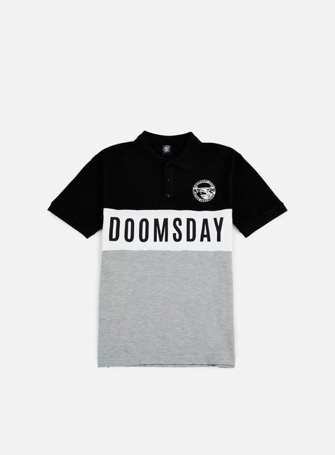 Polos Doomsday Logo Round Hammerhead Polo Shirt