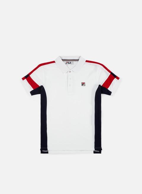 Polos Fila Prago Panel Polo Shirt