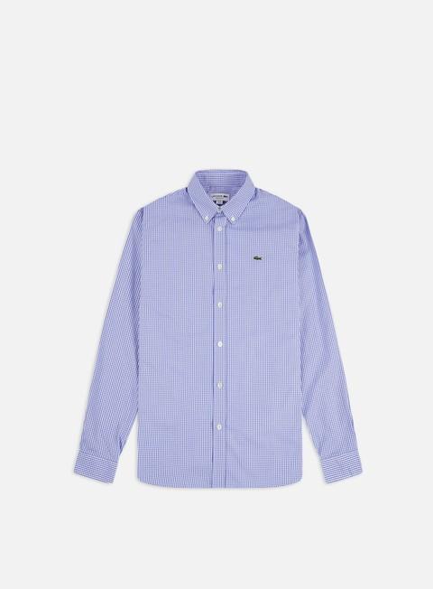 Lacoste Cotton Check Regular LS Shirt