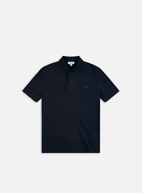 Lacoste Lightweight Ribbed Collar Polo Shirt