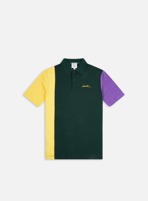 Lacoste Live Color Block Ribbed Collar Polo Shirt