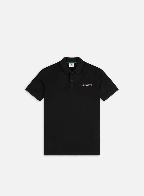 Lacoste Live Ribbed Collar Embroidered Polo Shirt