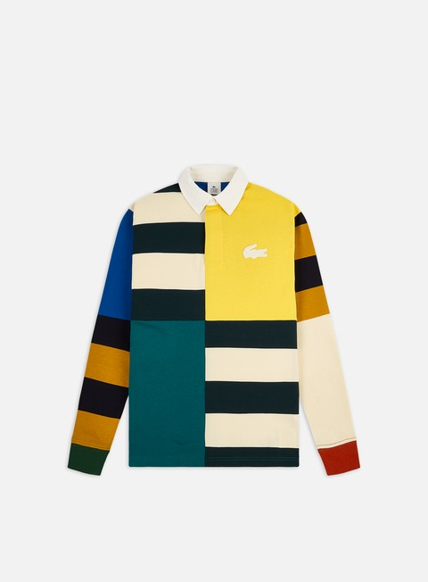 Sale Outlet Shirts Lacoste Live Ribbed Collar LS Shirt