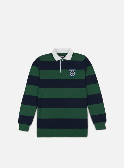 Outlet e Saldi Polo Magenta Light Rugby LS Polo Shirt
