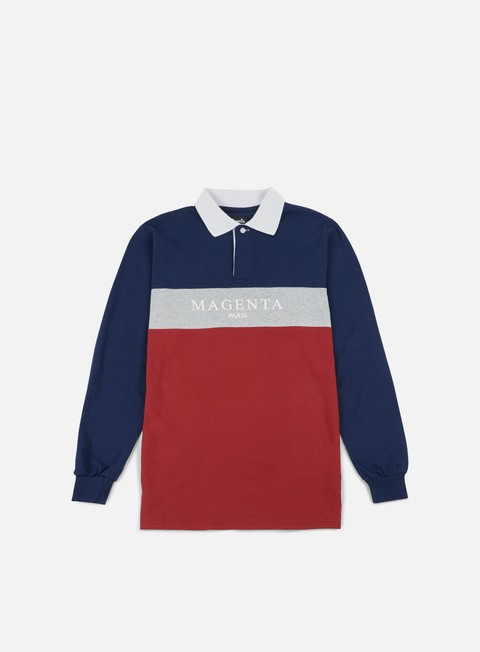 Outlet e Saldi Polo Magenta Paris LS Polo Shirt