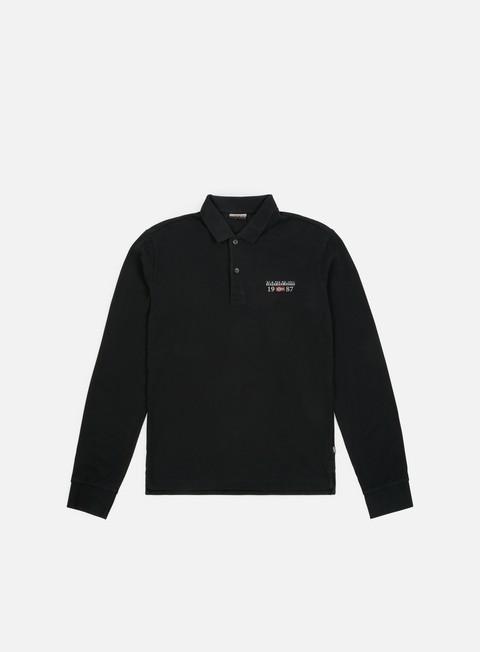 Sale Outlet Polos Napapijri Erthow LS Polo Shirt
