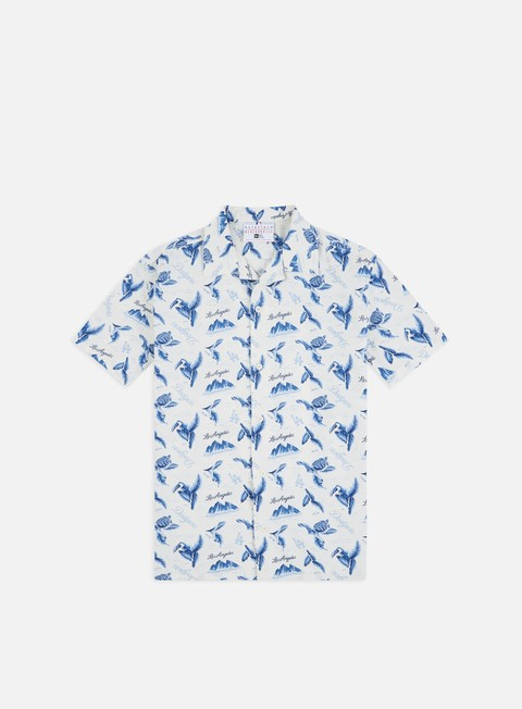 Sale Outlet Short sleeve shirts and polos New Era MLB Island SS Shirt LA Dodgers