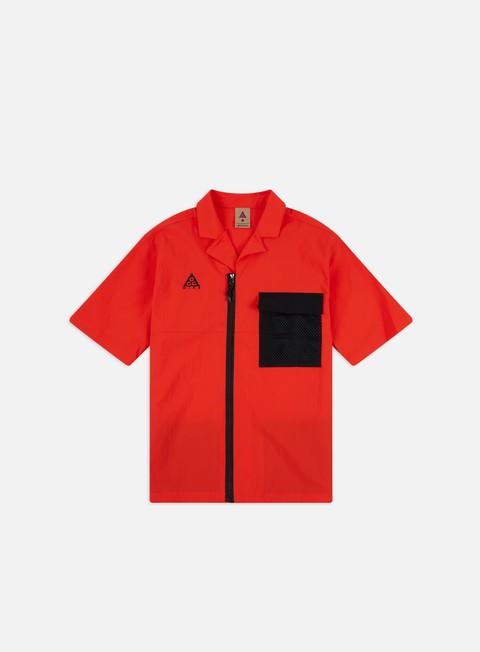 Short sleeve shirts and polos Nike ACG NRG Top Zip Shirt
