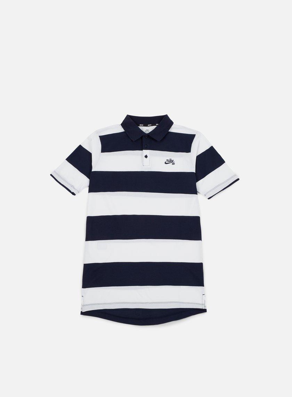 Nike SB Stripe Dri-Fit Polo Shirt