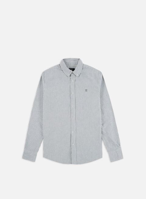 Camicie e polo a manica lunga Obey 89 Icon Stripe Woven II LS Shirt