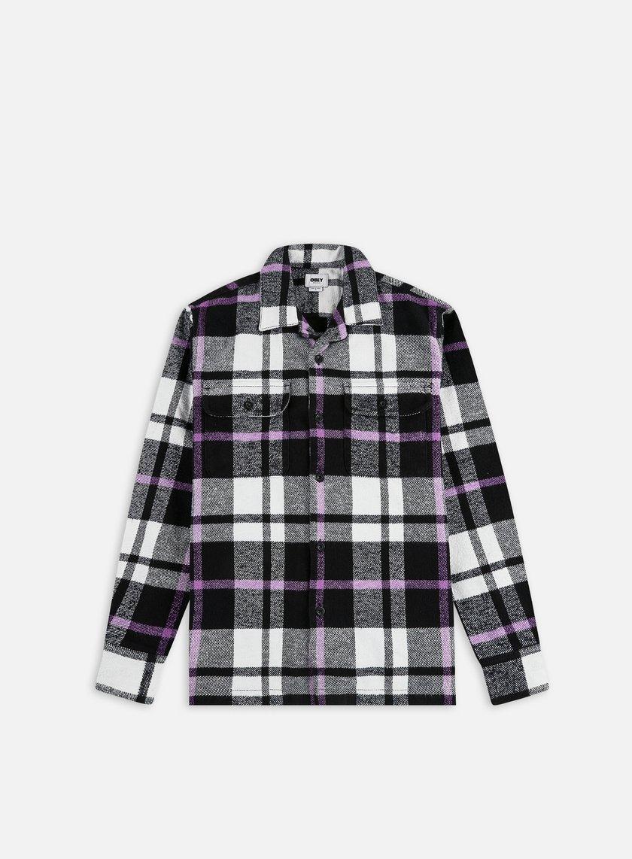 Obey Advert Woven LS Shirt