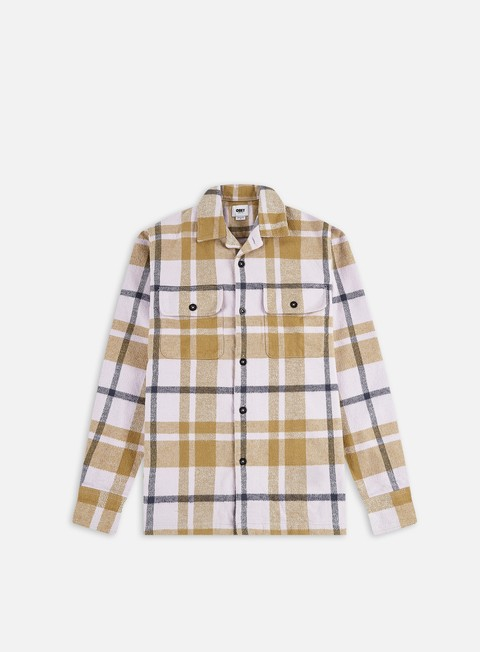 Camicie e polo a manica lunga Obey Advert Woven LS Shirt