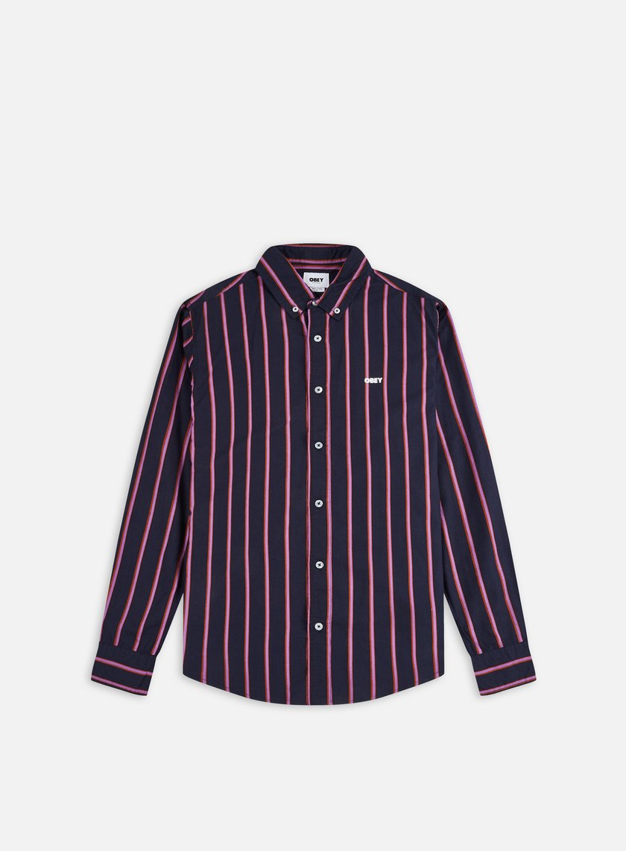 Obey Atomic Woven LS Shirt