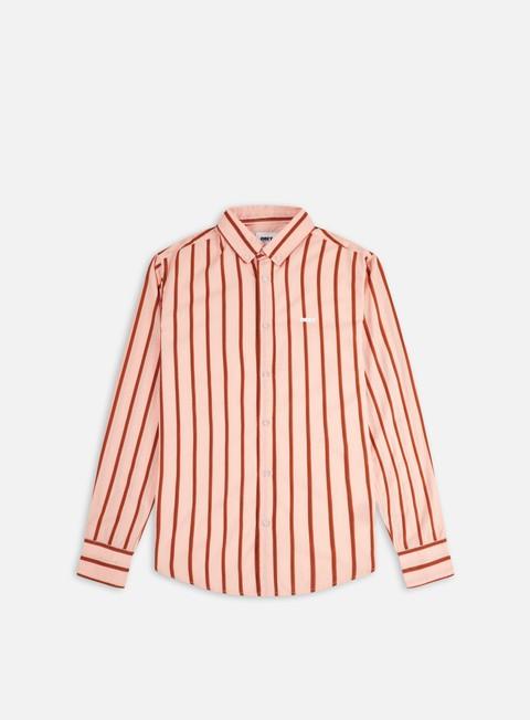 Camicie e polo a manica lunga Obey Atomic Woven LS Shirt