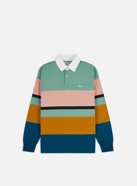 Polo Obey Benny LS Polo Shirt