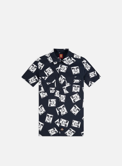 Camicie Obey Dickies Oby3 SS Shirt