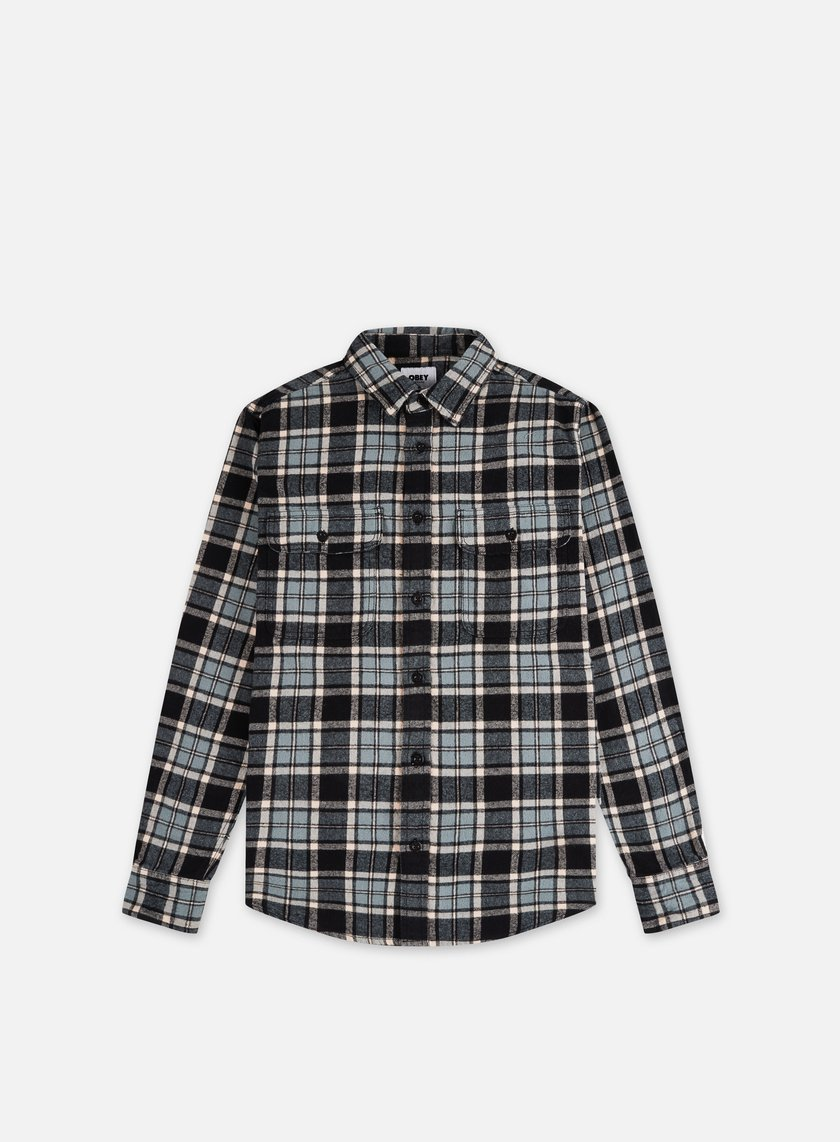 Obey Divisions Woven LS Shirt