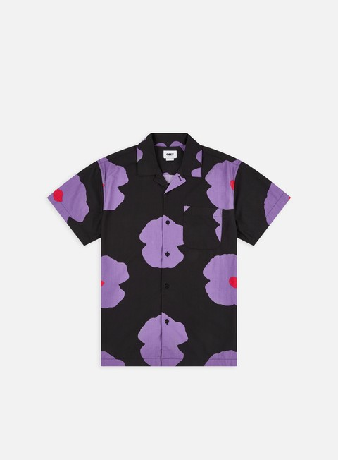 Camicie Obey Evens Woven SS Shirt