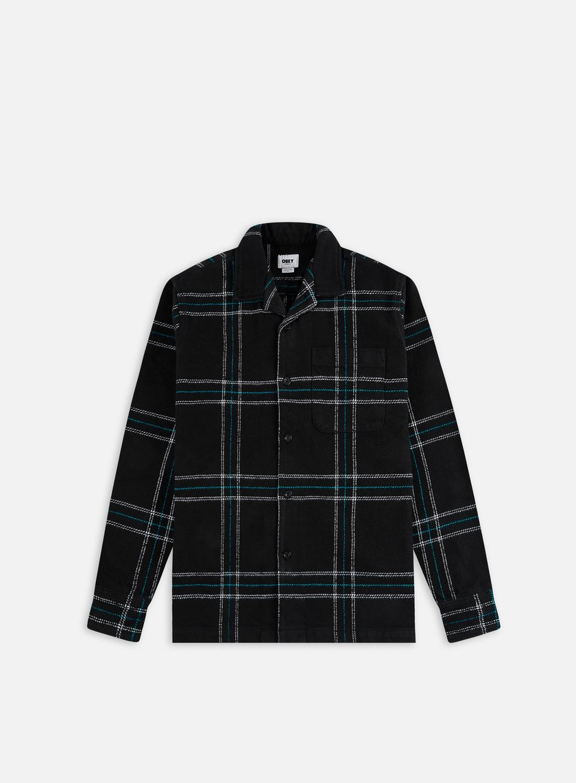 Obey Fiasco Woven LS Shirt