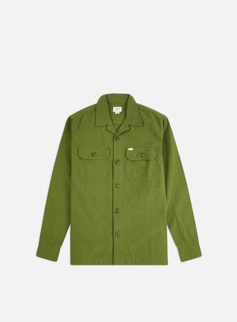 Camicie e polo a manica lunga Obey Ideals Organic Field Woven LS Shirt