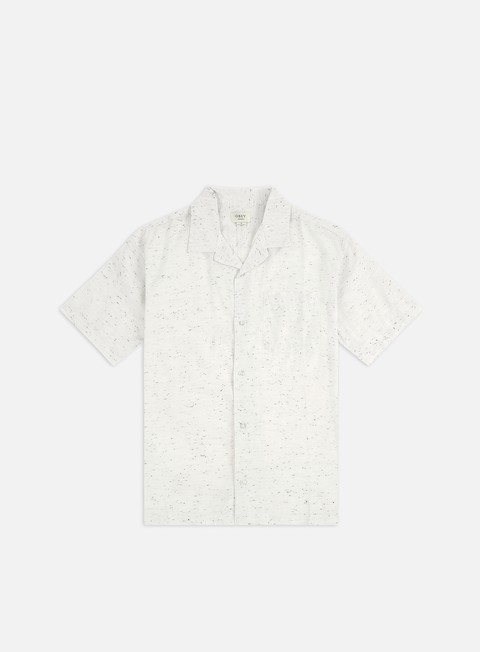 Camicie Obey Ideals Organic Nep Woven SS Shirt