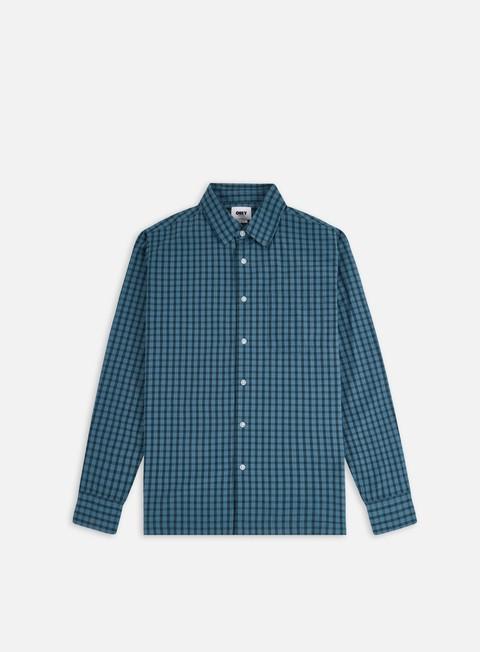 Camicie e polo a manica lunga Obey Larm Woven LS Shirt