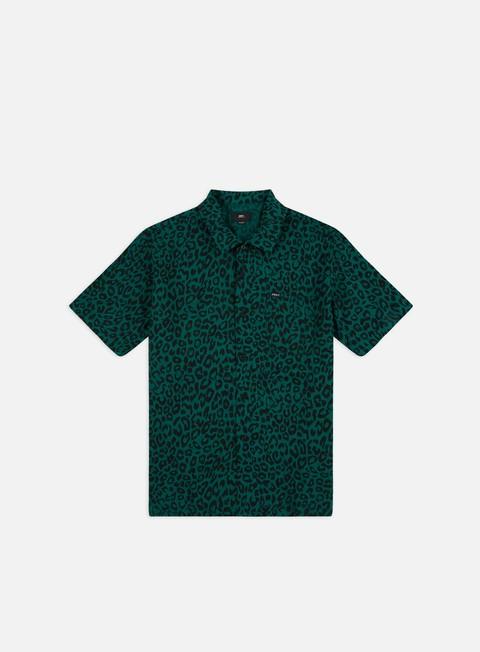 Camicie e polo a manica corta Obey Leo Woven SS Shirt