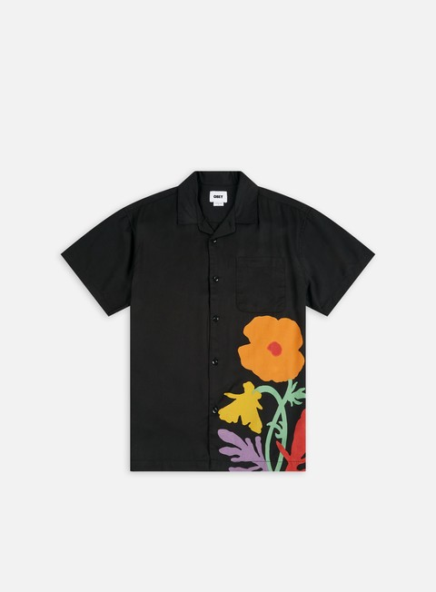 Camicie Obey Nico Woven SS Shirt