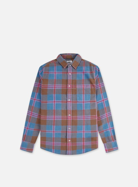 Camicie e polo a manica lunga Obey Orchard Woven LS Shirt