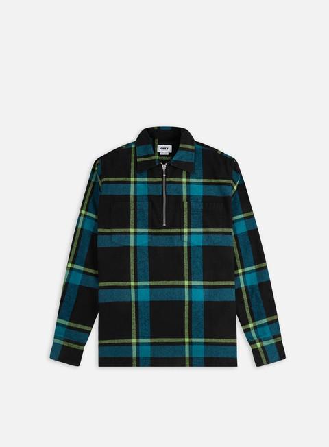 Camicie e polo a manica lunga Obey Pursuits Woven LS Shirt