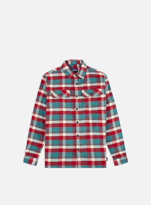 Long sleeve shirts and polos Patagonia Fjord Flannel LS Shirt