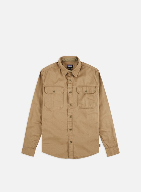 Long sleeve shirts and polos Patagonia Four Canyons Twill LS Shirt