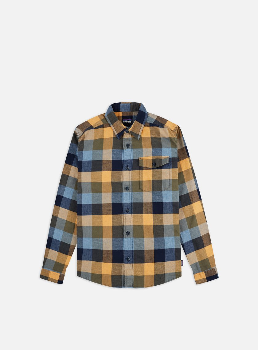 Patagonia Lightweight Fjord Flannel LS Shirt